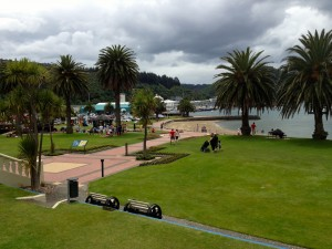 Picton, NZ from downtown