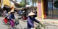 Bicyclists in Hoi An.