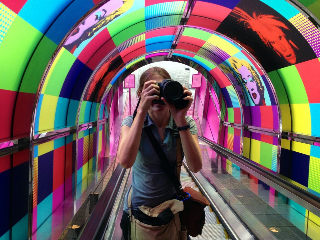 Warhol-ing it in Hong Kong