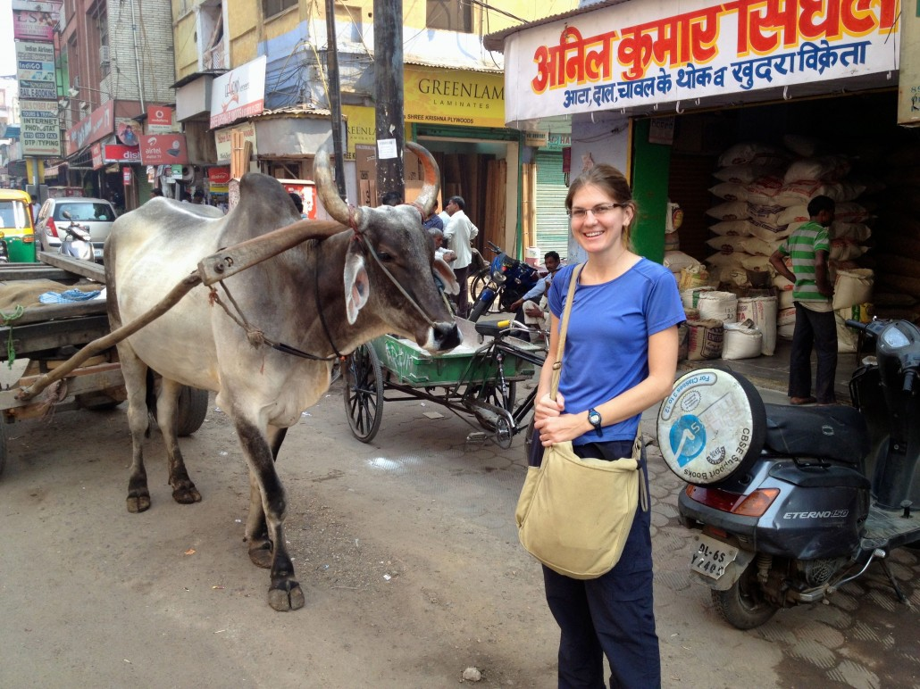 Arriving in India