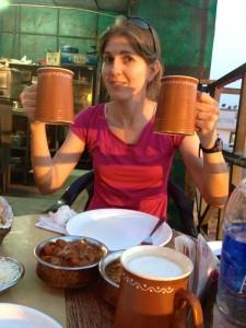 Asia, India, Delhi, New Delhi, beer, rooftop, restaurant, drinks, cold, dinner, food