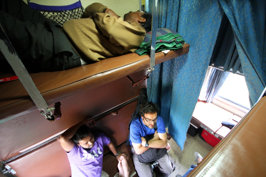 Adventures in India train travel, Part II: A stampede
