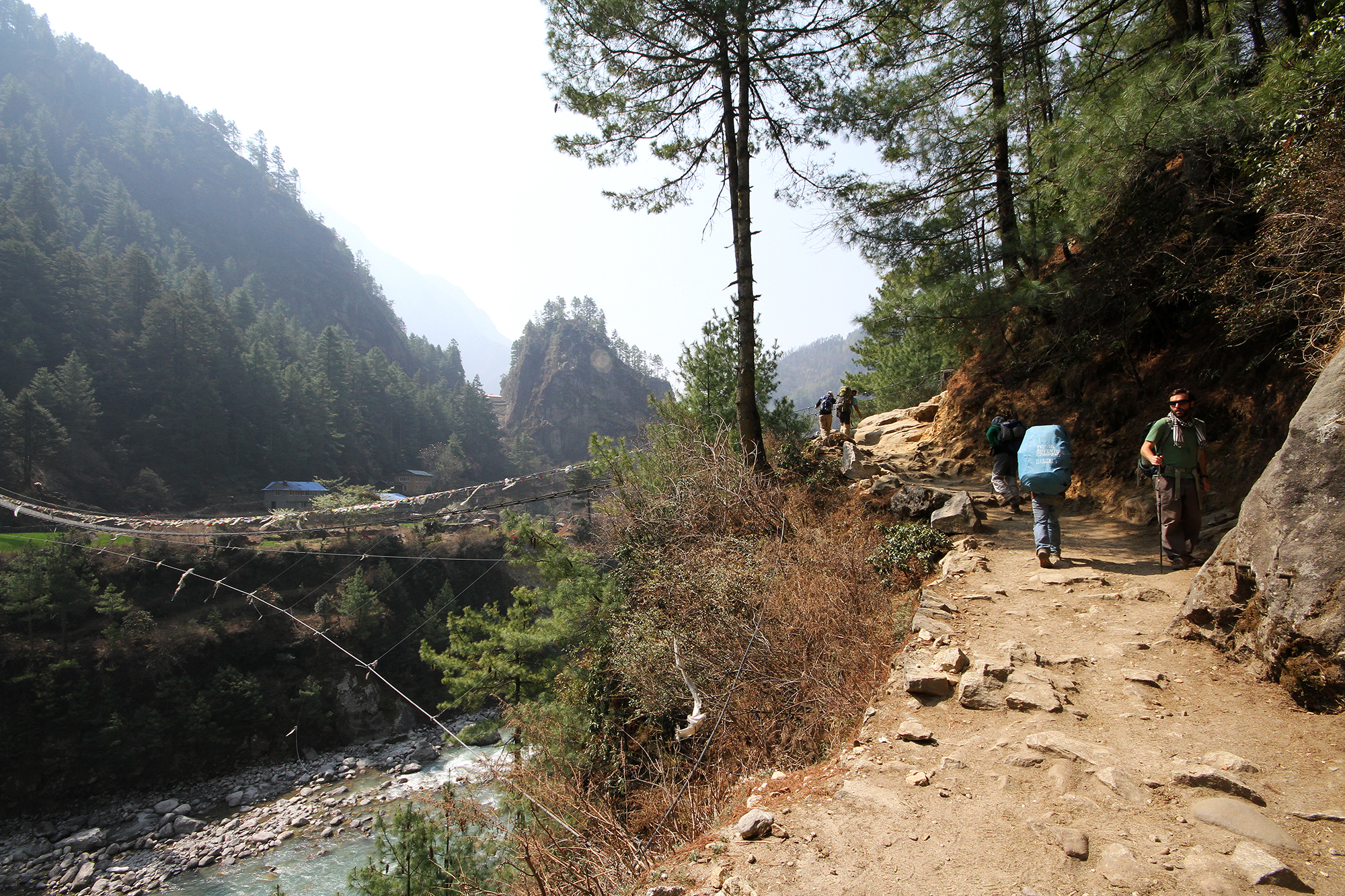 path to Lukla