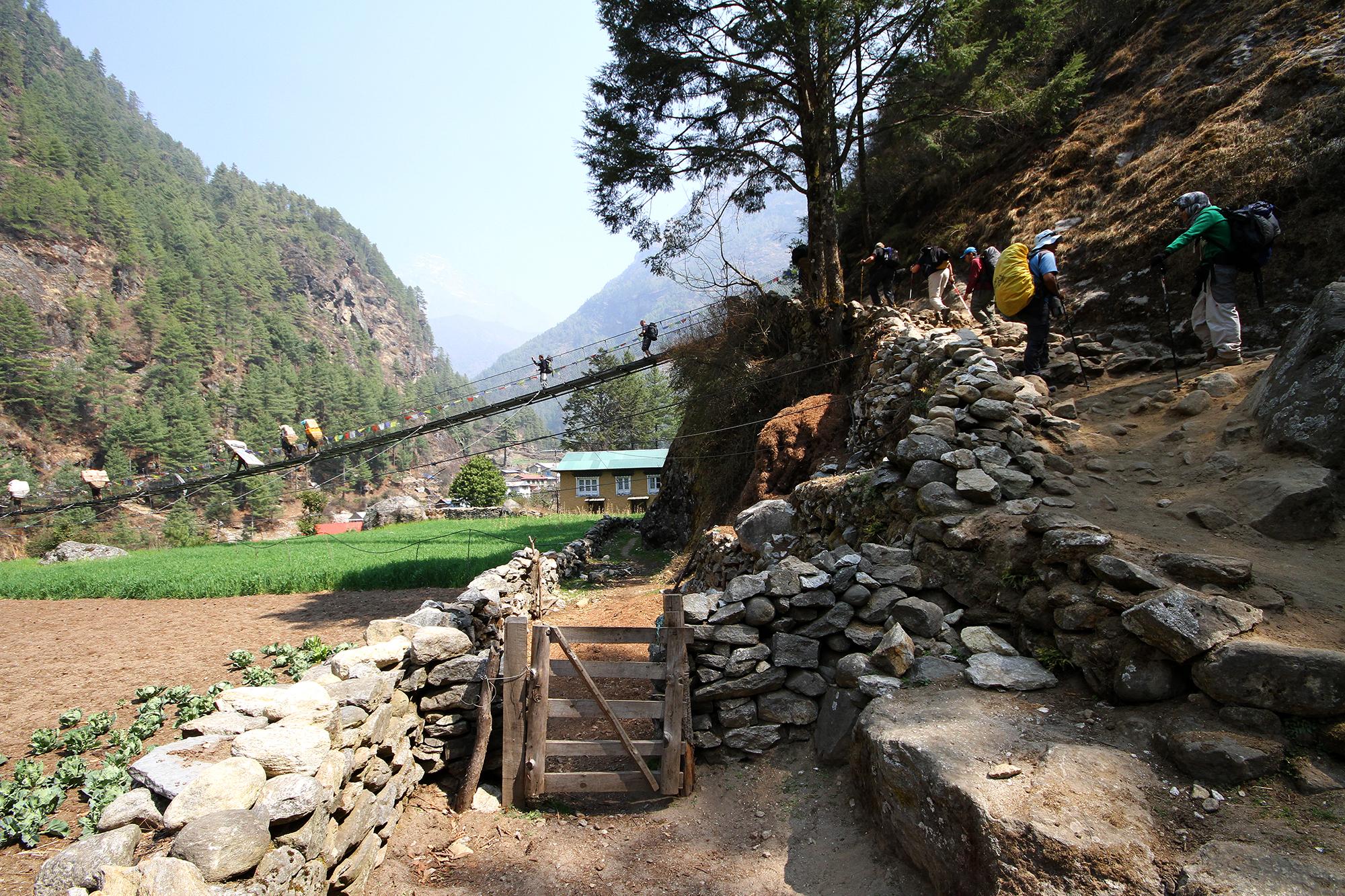 bridge to Lukla