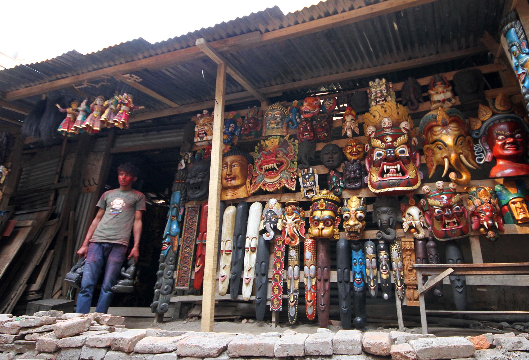 Thamel masks