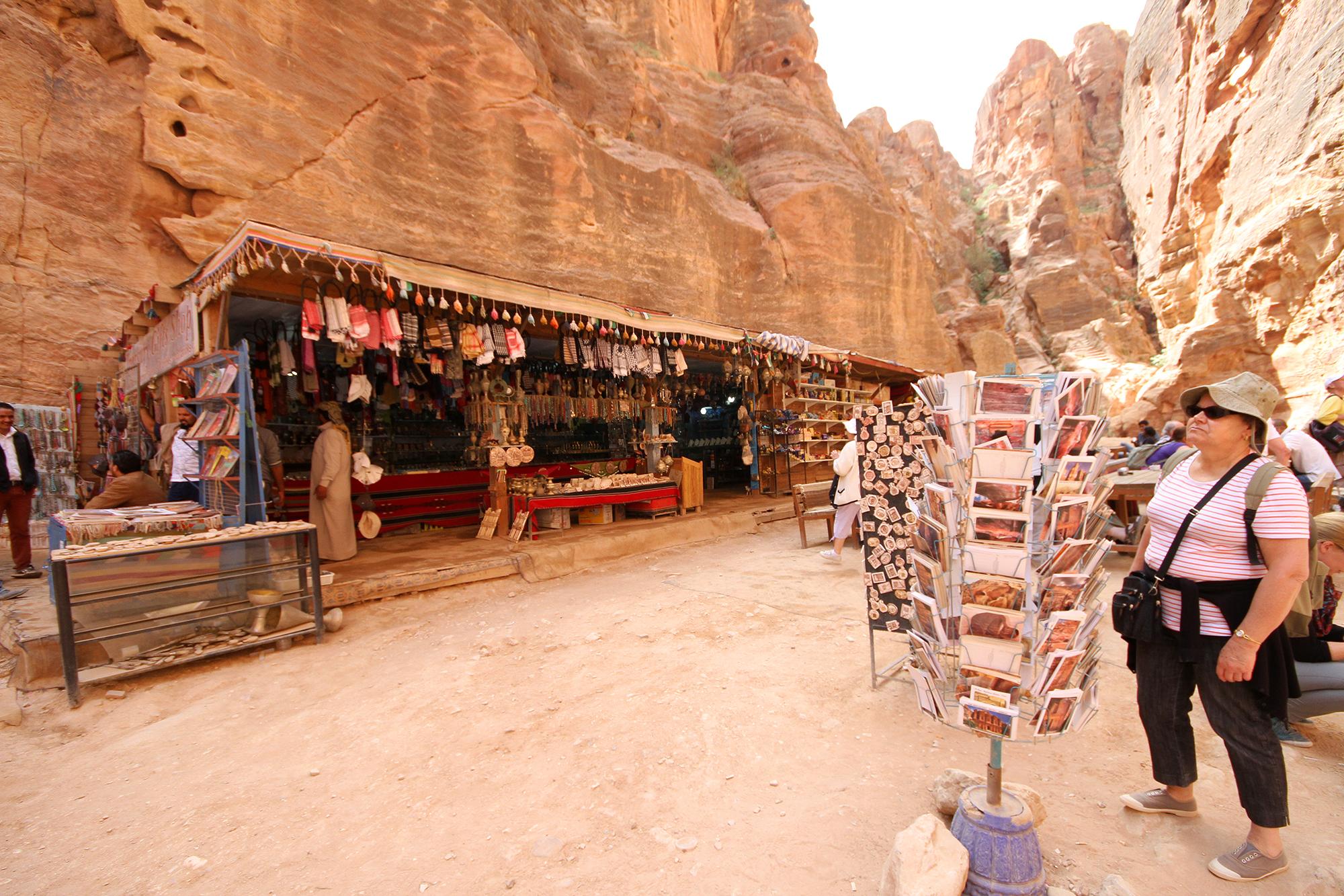 Petra tourist shop
