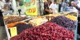 Dried fruit for sale within the  Mahane Yehuda Market