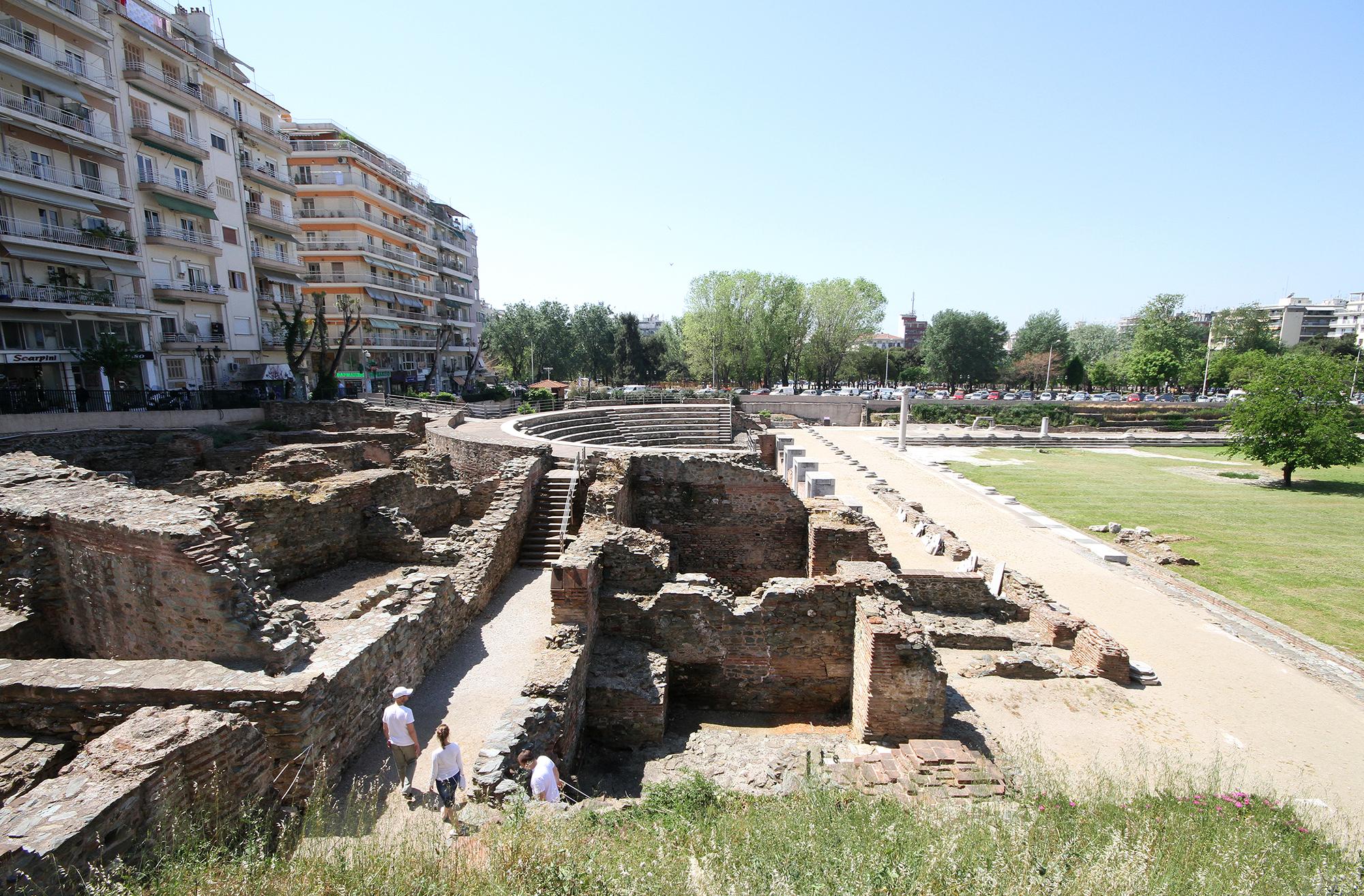 Thessaloniki ruins