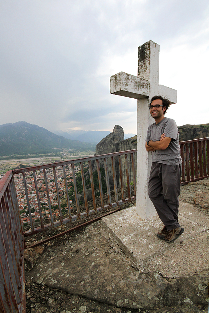 Agia Triada Monastery cross