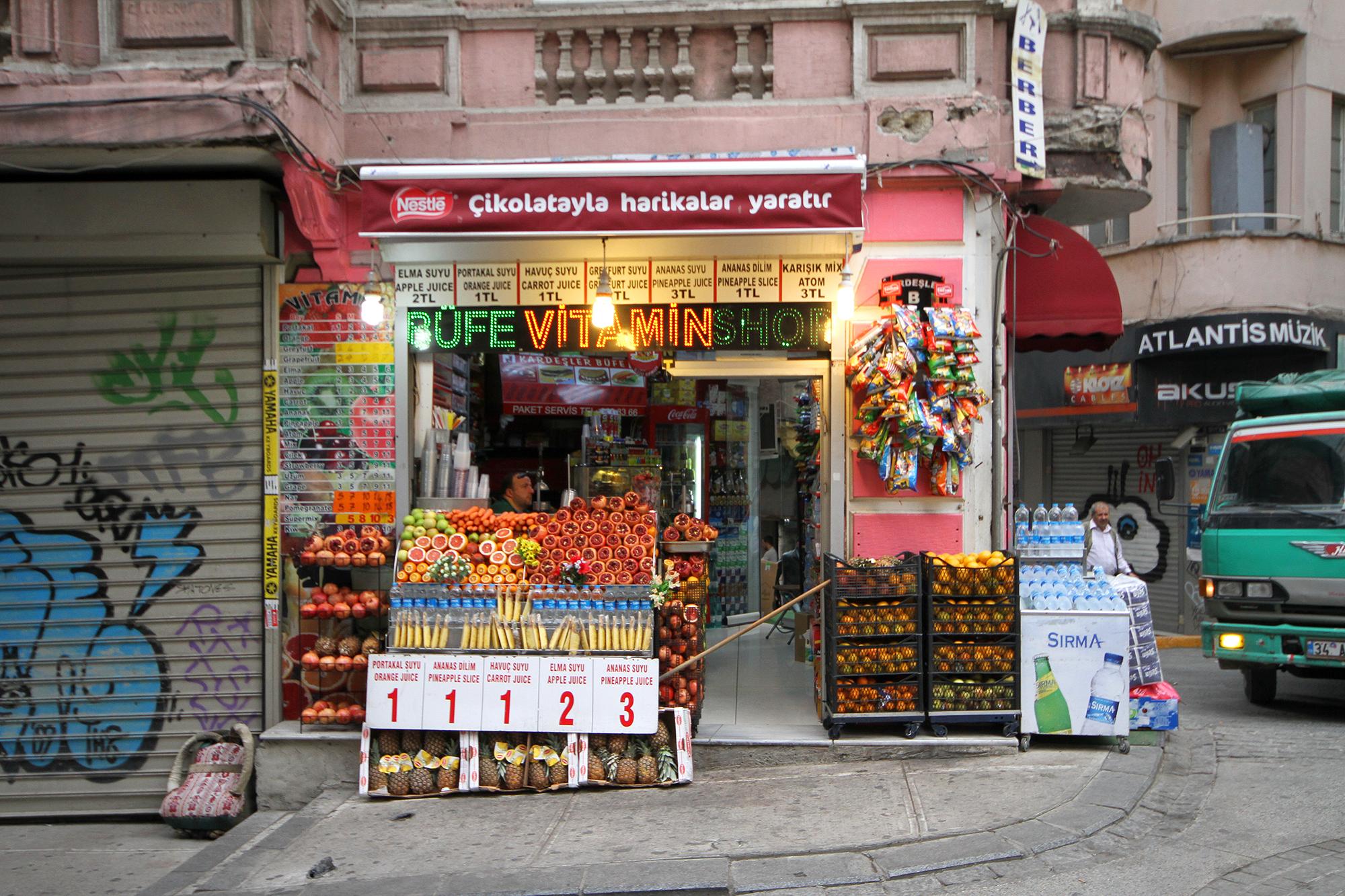 Istanbul shop