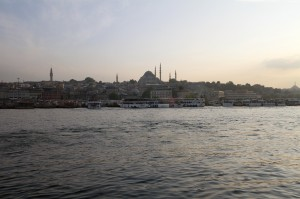 Galata Bridge view