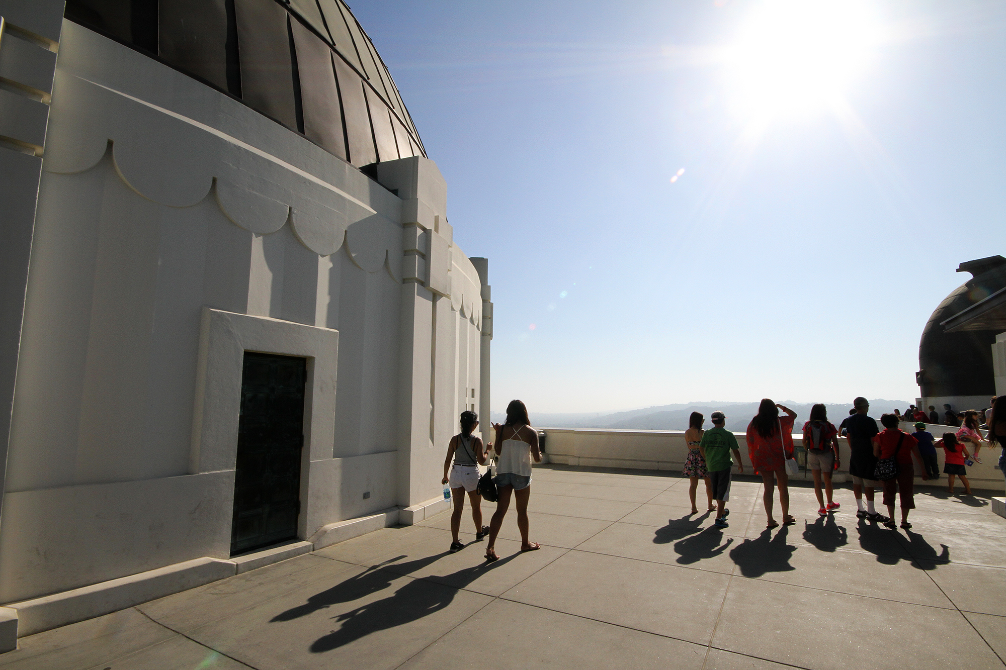 Griffith Observatory roof