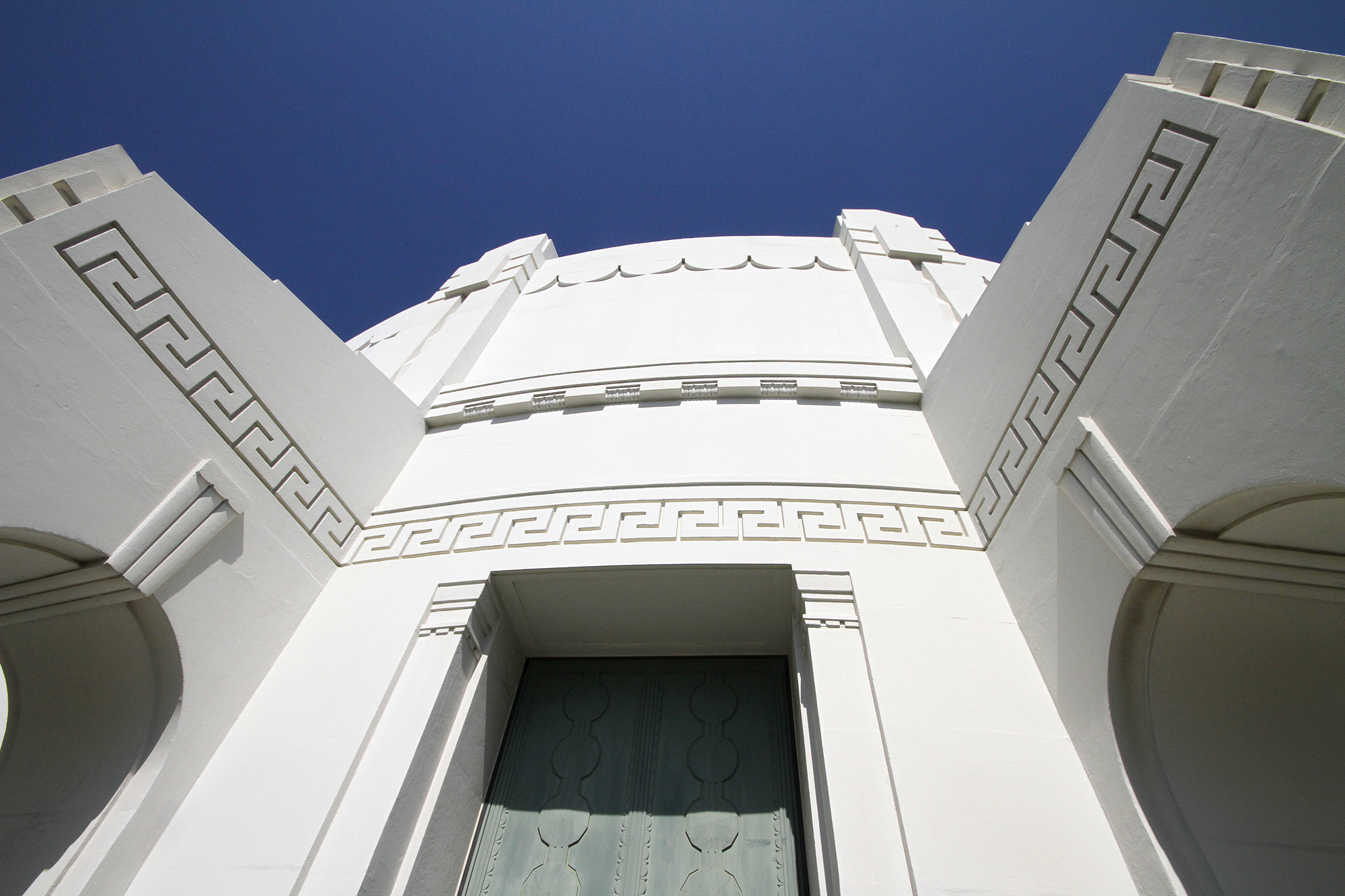 Griffith Observatory close-up